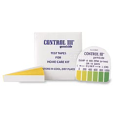 Test Strips For Control III Disinfectant